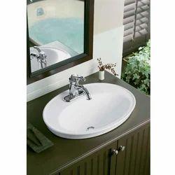 White Over counter Wash Basin