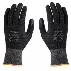 Black Unisex Anti Hammer Hit Gloves