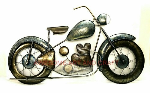 Awesome Antique Bike Wall Decor