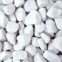 White Tumbled Pebbles