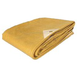 Yellow Cotton Canvas Tarpaulin