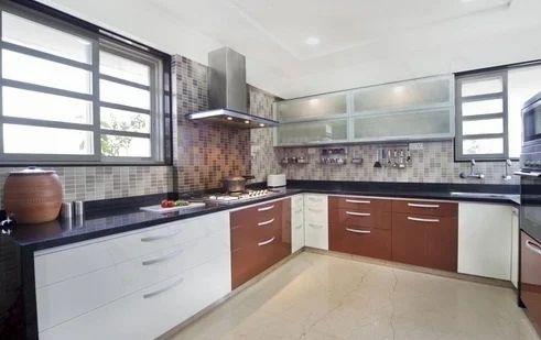 Modular Kitchen Interior In Mumbai Mulund West By Jain Sanitation