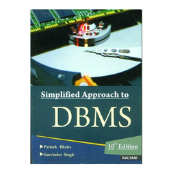 Simplified Approach To DBMS Computer  Book