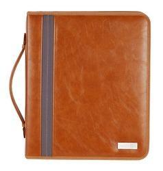Leather Document File Folder