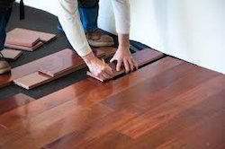 Teak Wood Standard Wooden Flooring Installation Service, Residential Building