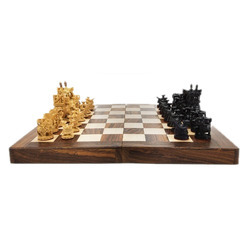 India King Chess Pieces