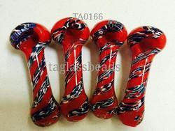 Colour Ful Glass Smoking Pipes 12459