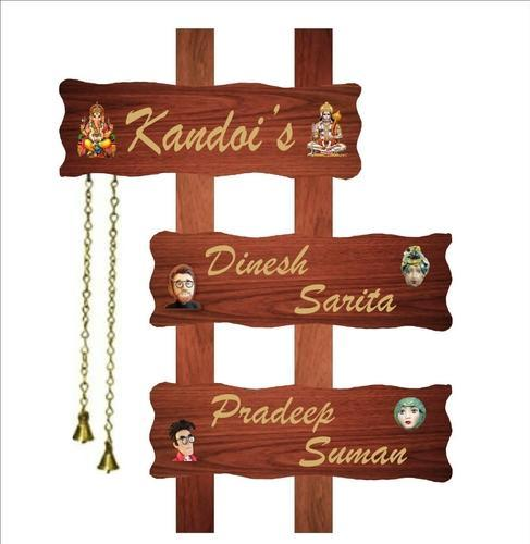 wooden name plate name plate prifar signs new delhi id