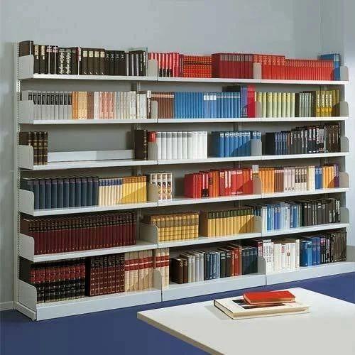 library shelves - Metal Library Bookshelves