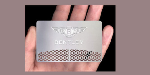 Metal visiting card view specifications details of visiting metal visiting card reheart Image collections