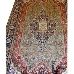 Rectangular Silk Carpet