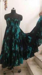 Salsa Dancing Skirts Chiffon Dress