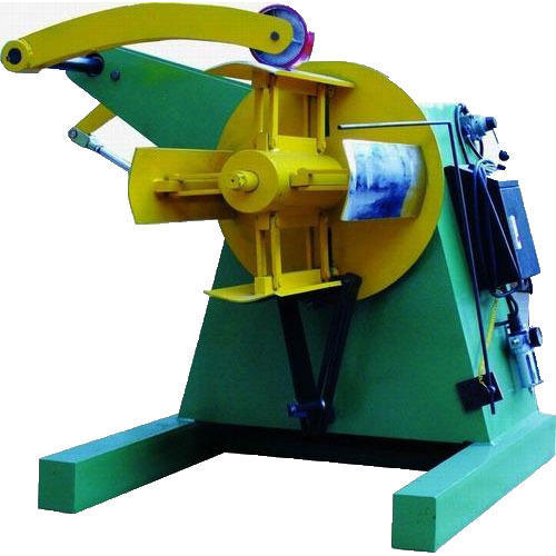 Motorized Decoiler Machine, Production Capacity: 2.5 Ton, 5 Hp, Rs 85000  /unit | ID: 12304639273