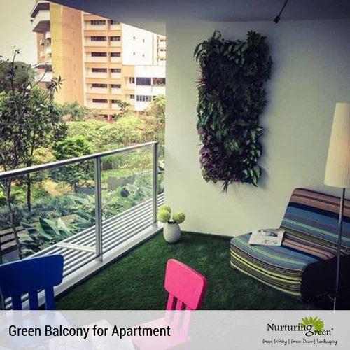 Green Balcony Landscape Design