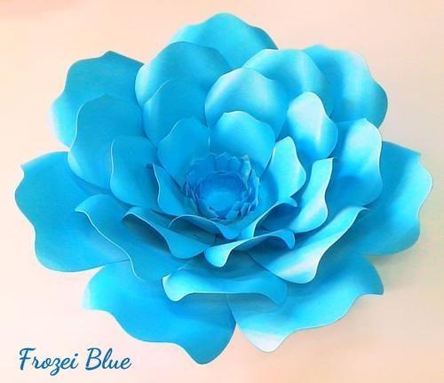 7 Designer Paper Flower Kagaz Ke Phool