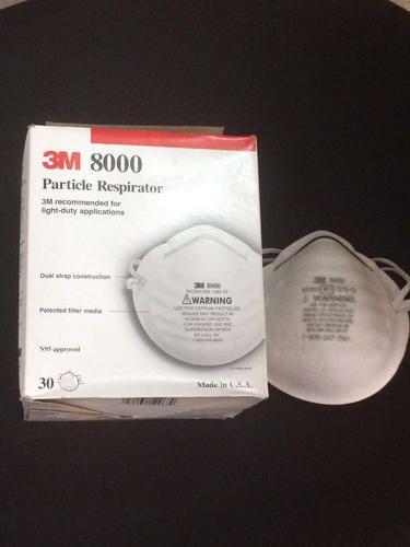 3m Air Pollution 8000 N95 Mask