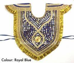Krishna Velvet Kavach Handwork Bhagwan Costume