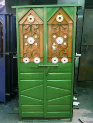 Iron Door, For Commercial, Size/Dimension: 2.5*6,2*6