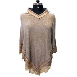 Australian Lace Knitted Poncho