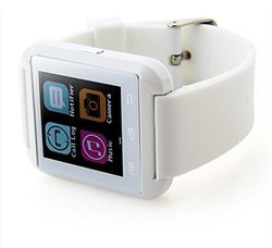 White Bluetooth Watch