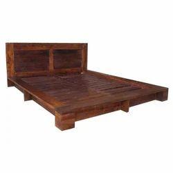 Acacia Wood Bed