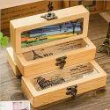 Wood Pencil/pen Storage Box- 3pcs
