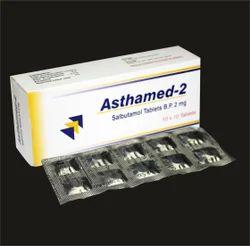 Allopathic Salbutamol Tablets BP 2mg, Packaging Type: Strips