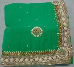 Jaipuri Designer Hand Work Saree