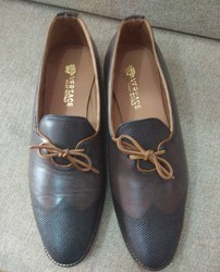 Casual Versace Leather Shoes, Rs 1500