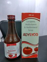 Medicine Grade Lycopene Vitamins & Minerals Syrups for Clinical, Packaging Type: 200 mL