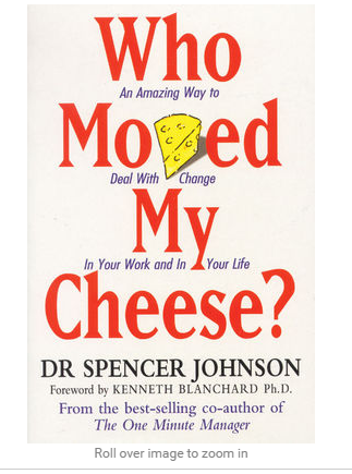 Who moved my cheese book price