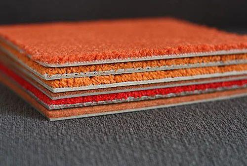 Acoustic Carpet Tiles क रप ट इल In