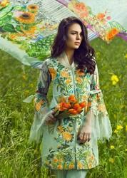 Cotton Party Wear Pakistani Heavy Embroidery Lawn Suits