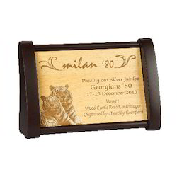 Attractive Wooden Plaque
