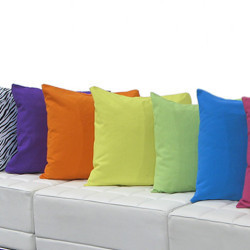 Pillows with Dyed Pillow Covers