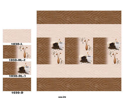Digital Wall Tiles 300 x 600 mm - ROSO Ceramic, Morbi | ID: 11614133012