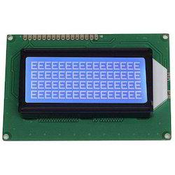 16X4 STN Blue LCD Module