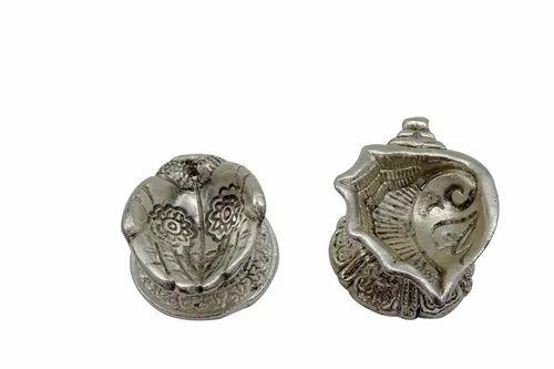 Silver Plated Pooja Item White Metal Laxmi Ganesha Manufacturer From Jaipur