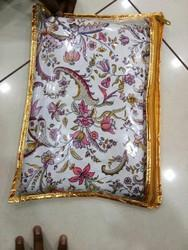 White & Red PVC Bag