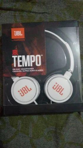 dca7311fe5a Black ,White Jbl Headphones, TEMPO ON - EAR J03B, Rs 190 /set | ID ...