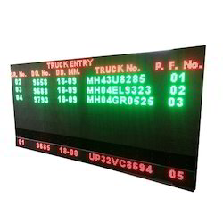 Tri Colour LED Display Board