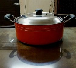 Aluminum Non Stick Casserole With SS OR Glass Lid - Size 220 MM