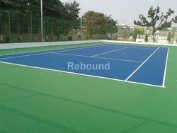 Non Slip Badminton Court Flooring