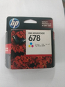 HP Inkjet Cartridge 678 Color