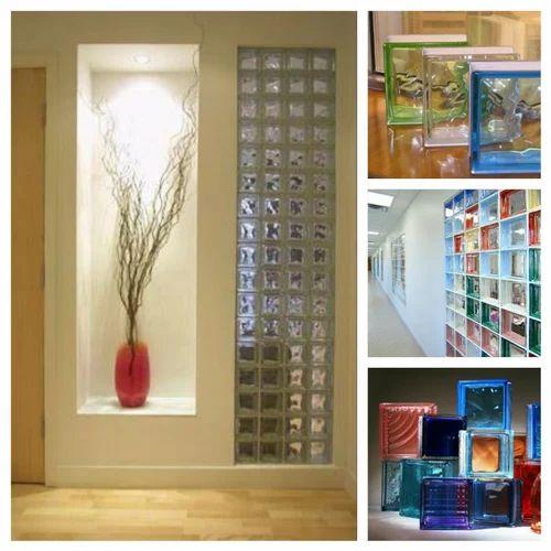 Decorative Glass Blocks क च, Decorative Glass Blocks