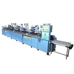 Round Screen Printing Machine for Hair Oil Bottle