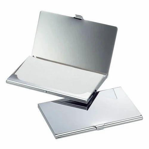 Steel Visiting Card Holder Steel Business Card Holder Shree