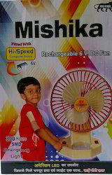 Mishika Rechargeable Fan