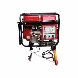ShivShakti Silent or Soundproof Diesel Welder Generator Set 275 Ampere, for Commercial, 260 V