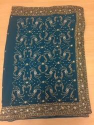 Dabka Saree For Ladies